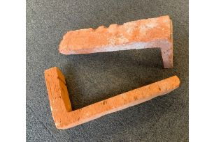 Vintage Cement hörnstycke